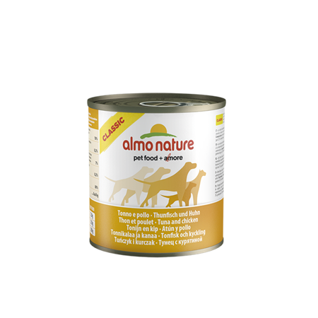 ALMO NATURE Classic Dog Tuna and chicken (tuńczyk i kurczak)